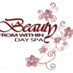 Lybelle Creations Graphic Design Portfolio - Beauty From Within Day Spa