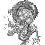 Lybelle Creations Graphic Design Portfolio - Dragon
