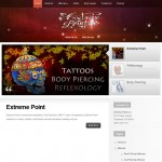 Lybelle Creations Web Design Portfolio - Extreme Point Website Screenshot
