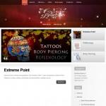 Lybelle Creations Web Design Portfolio - Extreme Point Website Screenshot