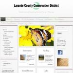 Lybelle Creations Web Design Portfolio - Laramie County Conservation District Website Snapshot