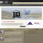 Lybelle Creations Web Design Portfolio - Monument Home Builders Screenshot