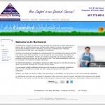 Lybelle Creations Web Design Portfolio - AC Mechanical