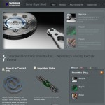 Lybelle Creations Web Design Portfolio - Tatooine Website Screenshot