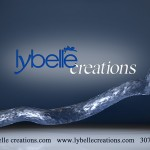 Lybelle Creations Printed Design Portfolio - Lybelle Creations Brochure with Contact Information