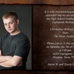 Lybelle Creations Printed Design Portfolio - Graduation Invitation - Inside Pages